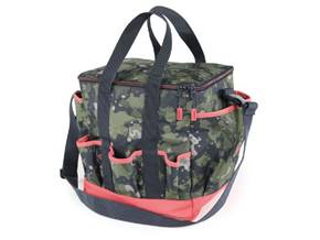 AUBRION GROOMING BAG CAMO/PINK